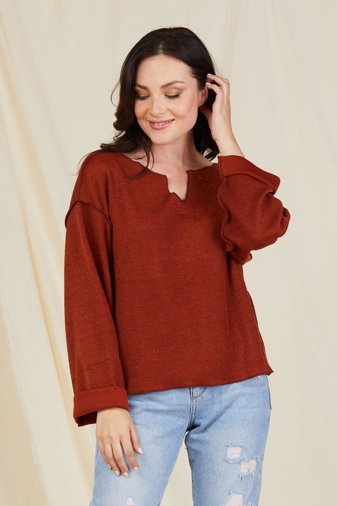 Knit Warm Intentions Sweater