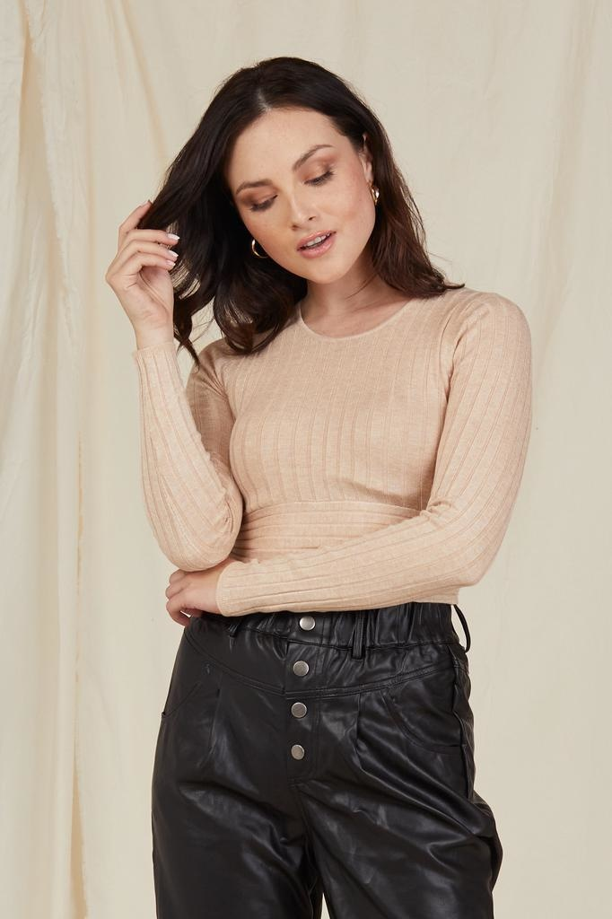 Crop New Moves Cropped Knit