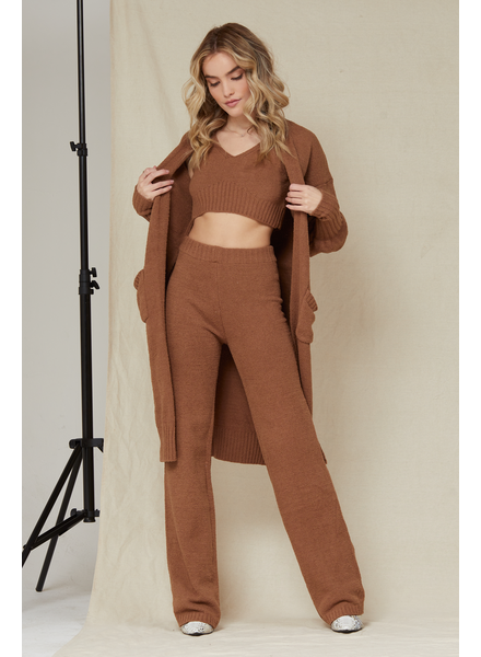 Cardigan Say It Lounger Duster & Tank