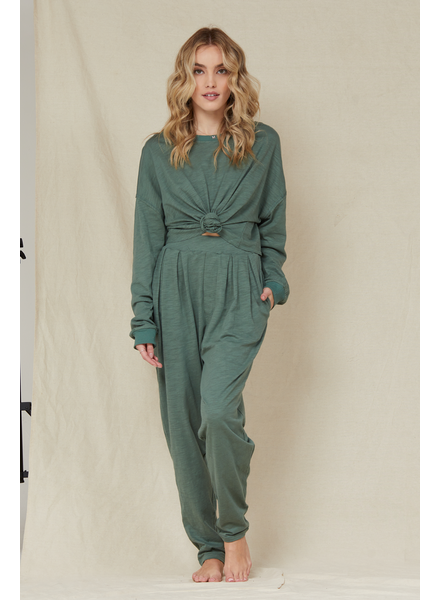 Lightweight Green With Envy Top