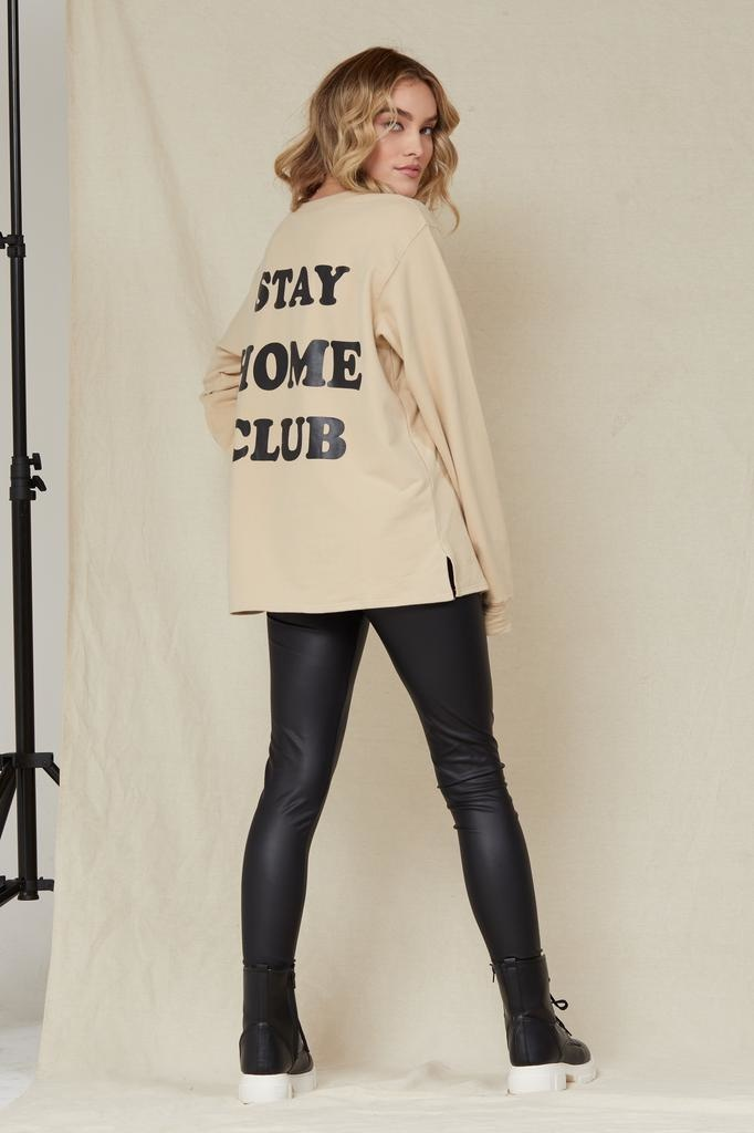 T-shirt Stay Home Club T-Shirt