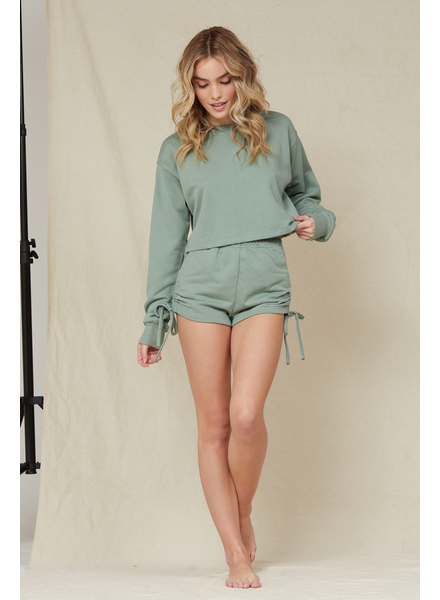 Crop Weekend Chiller Pullover