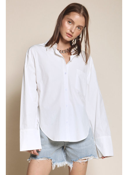 Blouse Oh So Fresh Button Down