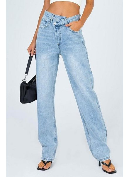 Pants Collision Asymmetric Jeans
