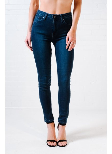 Jeans Dark denim high rise