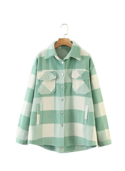 Lightweight Mint For You Shacket
