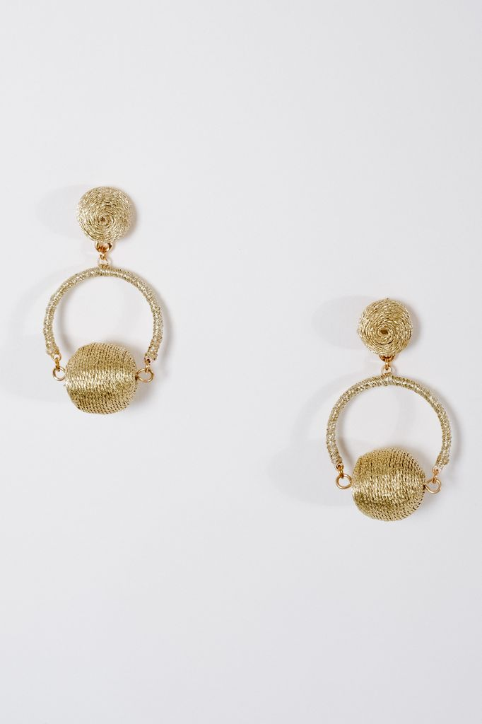 fd753699c Trend Double swing ball earrings - Bobbles and Lace