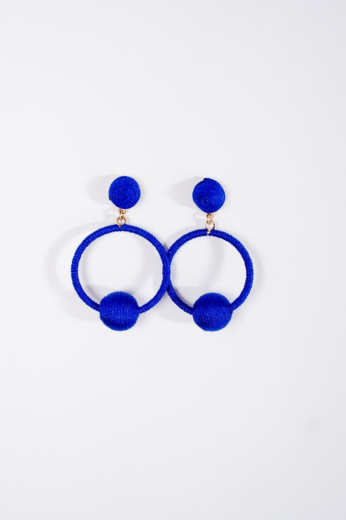 Trend Royal swing ball earrings