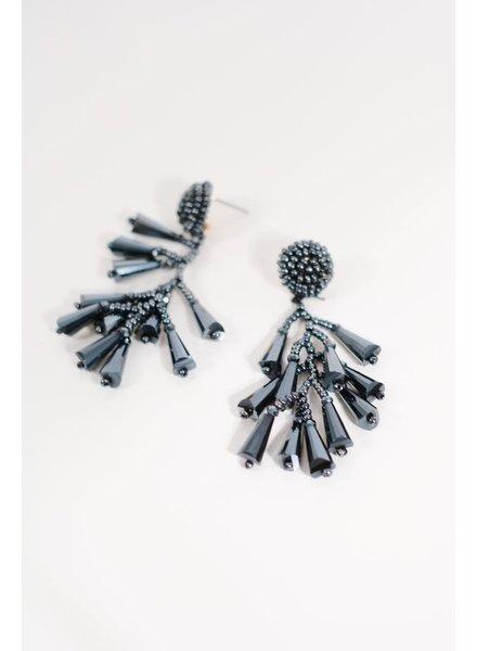Trend Navy crystal dangles