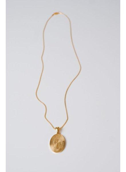 Gold Saint Medallion