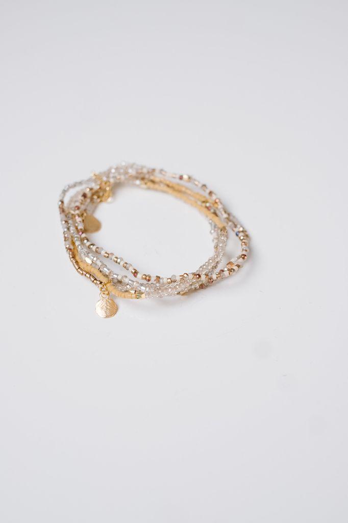 Trend Thin Beaded Bracelet Set