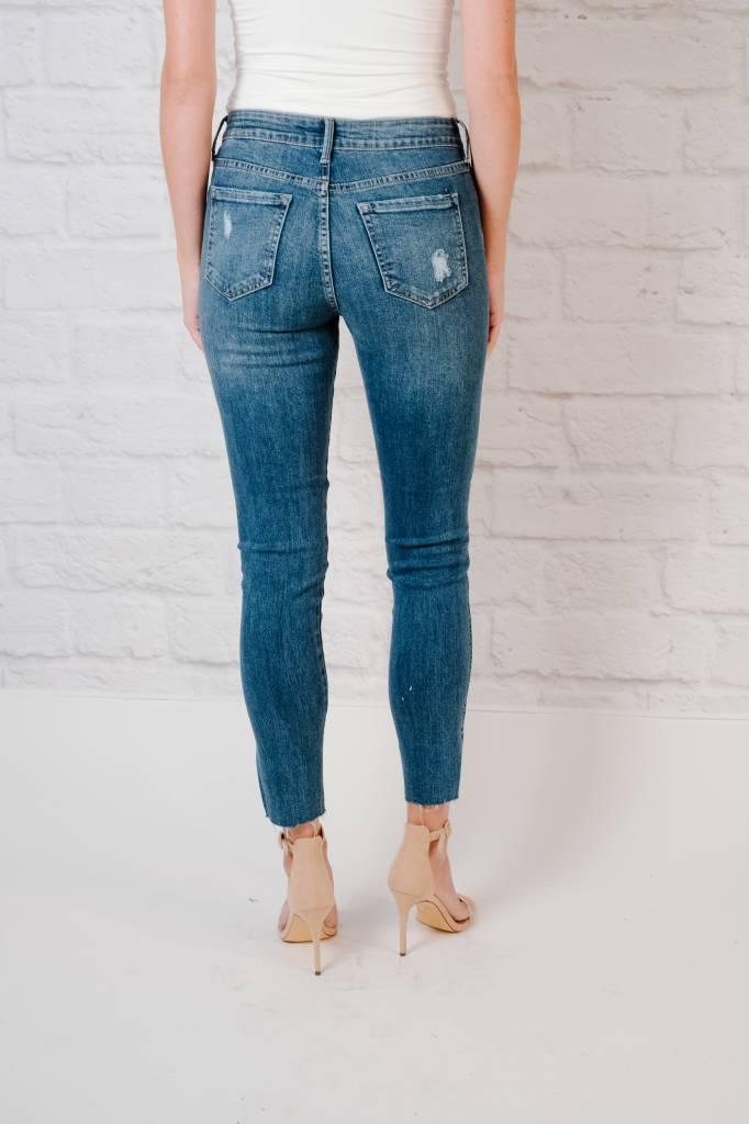 Jeans H/R Scissor Slit Skinny