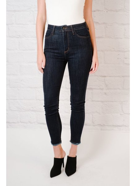 Jeans Super HR Fray Hem Skinny