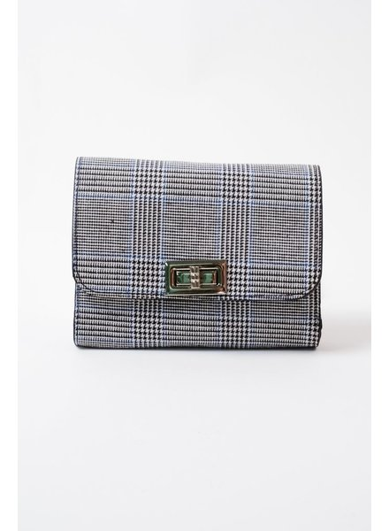 Clutch Plaid Fanny Pack Clutch