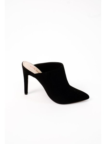 Pump Pointed Toe Mule