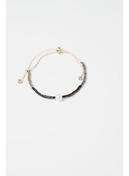 Trend Beaded Pearl Bracelet