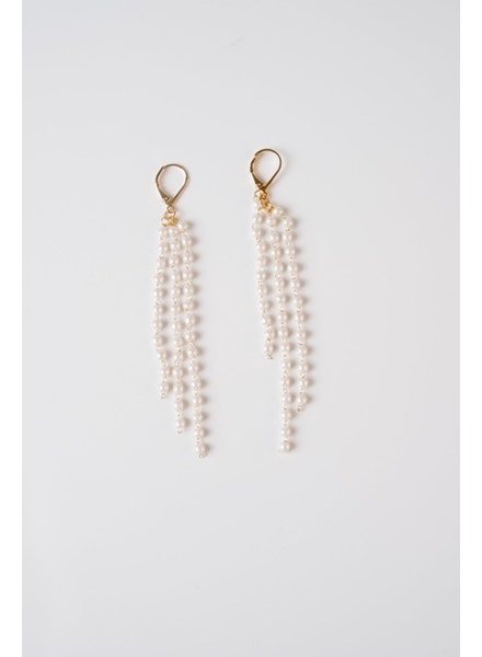 Trend 3-Strand Drop Earrings