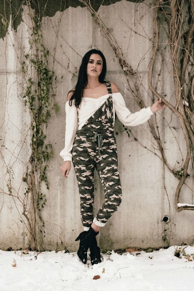 Jumpsuit Camo Overalls