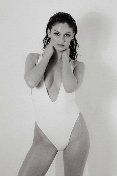 Bodysuit Scuba Deep V Swimsuit
