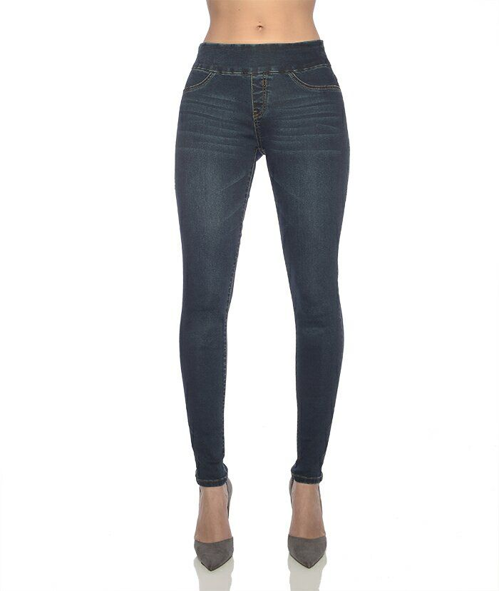 Rubberband Penelope pull on denim