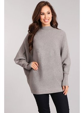 BLVD Rib knit mock neck sweater