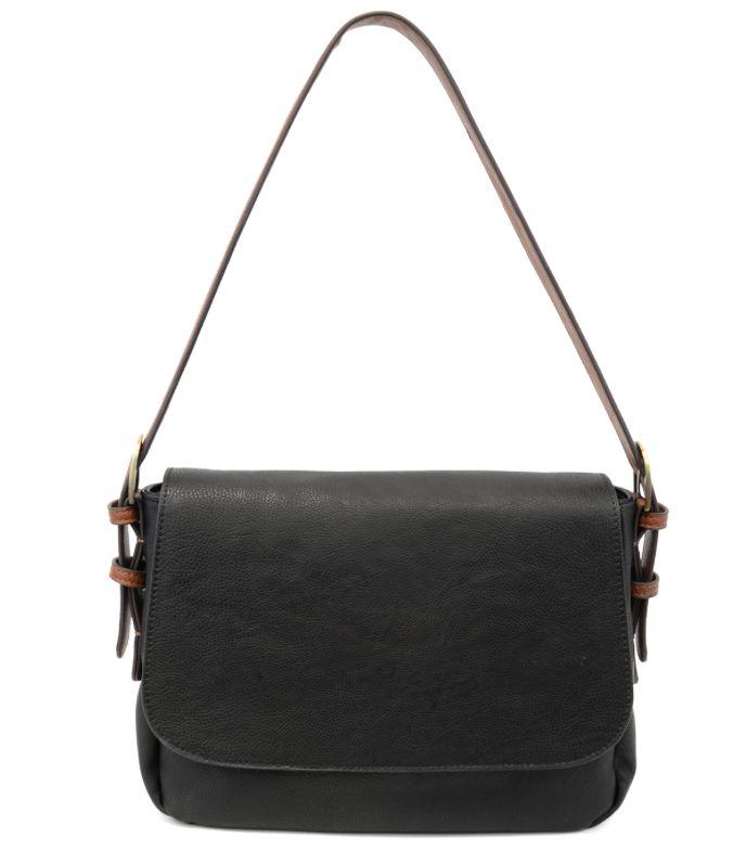 JOY Accessories Jane cedar handle handbag