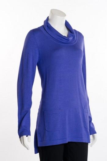 Erin London 2 Pocket Cowl Neck Sweater by Erin London
