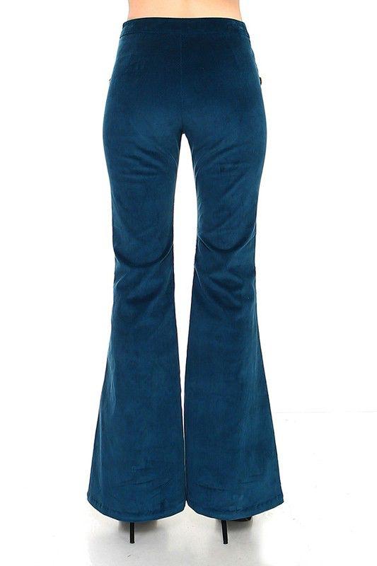 TCEC Bell bottom corduroy pants