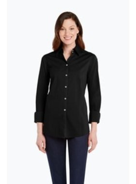 Foxcroft Sarah Long Sleeve Stretch Blouse