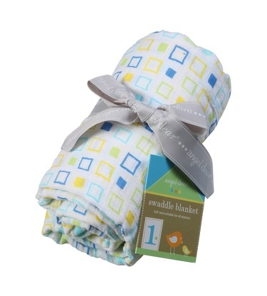 Angel Dear muslin swaddle blanket - square print