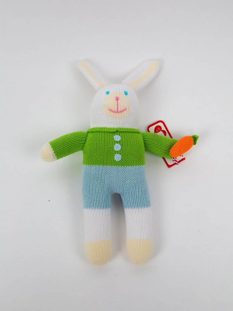 "Renzo Boy Bunny by Zubels 12"""