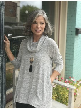 Erin London Tunic Lenghth Cowl Neck by Erin London