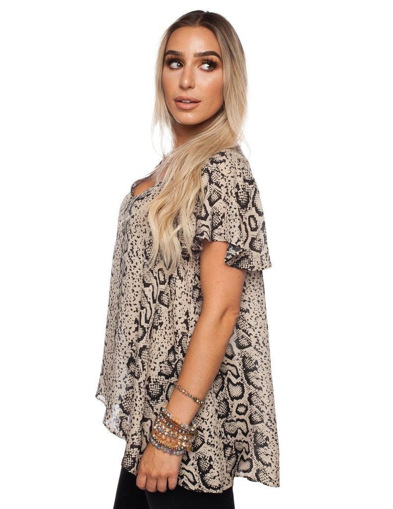 Buddy Love Wholesale Skater tunic in Slither
