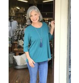 Habitat Cotton pebble a-line crew neckline tunic