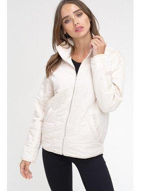 Listicle Quilted padding jacket
