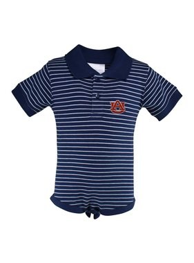 Two Feet Ahead Stripe jersey shirt onesie