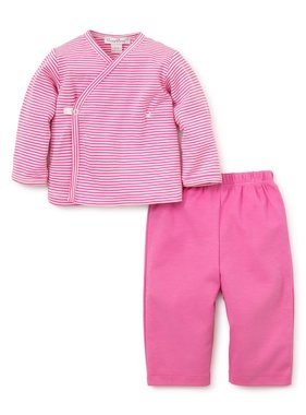 Kissy Kissy Essentials pant set with long sleeve cross tee