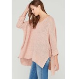 Wishlist, Inc. 3/4 sleeve oversized sweater