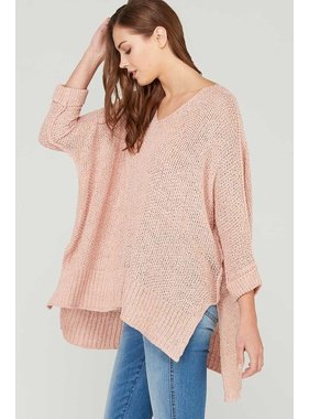 Wishlist, Inc. 3/4 sleeve oversized sweater