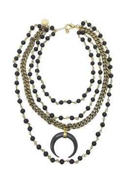 Kristalize Jewelry Bryn layered necklace