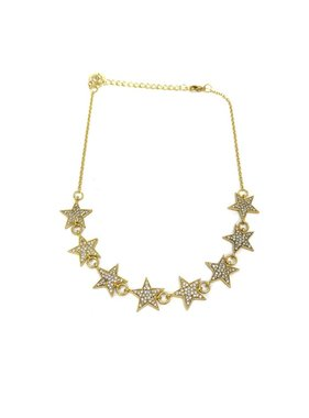 Kristalize Jewelry Dallas pave star choker