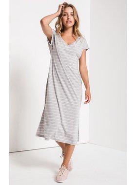 Z Supply Stripe midi drop dress