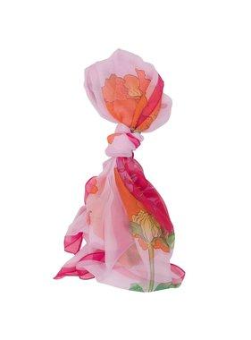 Mountain Mamas Playful peony scarf - ballerina pink