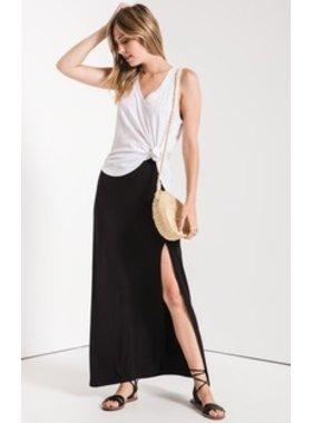 Z Supply The Side Slit Maxi Skirt