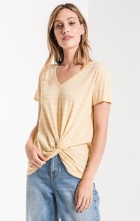 01437649cca8 Z Supply The Lucca Twist Front Tee by ZSupply - Cloud Nine Gifts ...