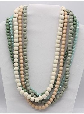 Meghan Browne Style Charlie Necklace - Multi