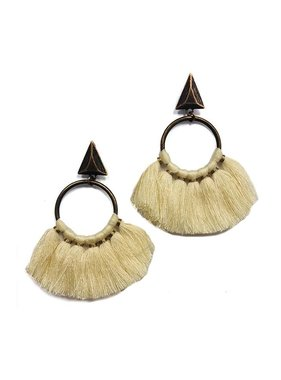 Kristalize Jewelry Aiden tassel earring by Kristalize