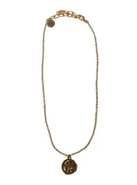 Kristalize Jewelry Issac coin necklace by Kristalize