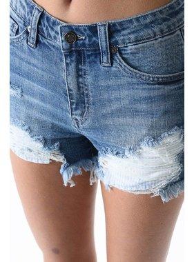 KanCan Distressed denim shorts by KanCan