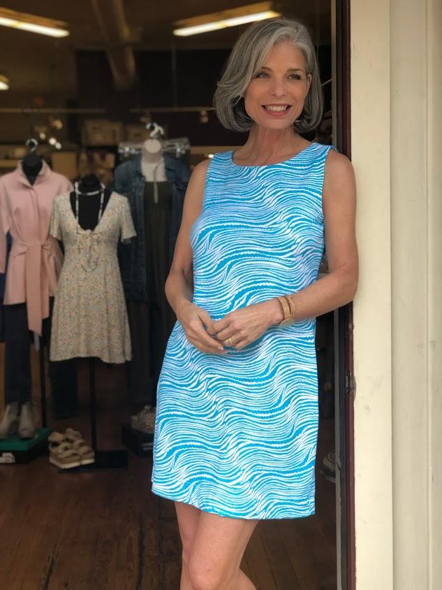 Lulu B Sleeveless Travel Dress by Lulu B